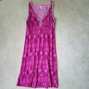 Lucky Brand Aztec Print Sleeveless Dress - S